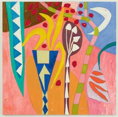 Helen's Glade, 2011, by Gillian Ayres