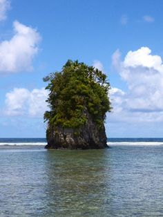 Flower Pot Rock. American Samoa #GrandWorldVoyage