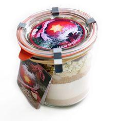 """Löbke Kuchen-Backmischung Winter-Apfel-Kuchen """"Winterapfel"""" im Weck Glas @trendversand.ch"""