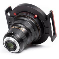 Sistema per filtri fotografici a lastra 150×150, 150×170, 165×165 e filtri circolari Ø145mm su obiettivi Nikon 14-24 f/2.8 e Tamron 15-30 f/2.8  Prodotto artigianale di alta qualità, 100% Made in Italy, assemblato a mano e controllato uno ad uno!!
