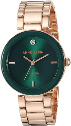 Anne Klein Watch, Jewelry Clasps, Bling Jewelry, Jewelry Accessories, Women Jewelry, Rose Gold Watches, Beautiful Watches, Elegant Watches, Stylish Watches