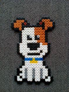 Perro Max Mascotas Pets Hama beads #mascotas #pets #hama