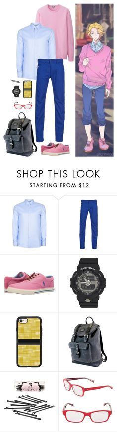 """""""Mystic Messenger: Yoosung (Urban Street)"""" by abbysm17es ❤ liked on Polyvore featuring Topman, Diesel, Polo Ralph Lauren, G-Shock, Casetify, The British Belt Company, L. Erickson, Corinne McCormack, men's fashion and menswear"""