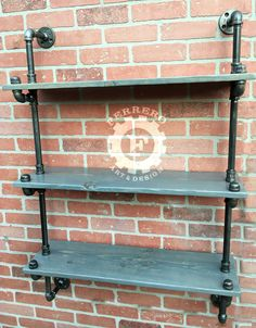 "Steampunk furniture,pipe Bookshelf, Bookshelves, Industrial shelves, industrial shelfs, pipe shelf, pipe shelving, rustic decor, shelf. 3 Tier Shelves Steampunk/Industrial Age Approx. Approx 44"" Tall Approx 30"" Wide Approx 9.5"" Deep Approx 11"" Distance between shelves To make shipping affordable, we will be shipping item in pieces. Very easy to assemble, we will provide instructions In this listing we have great looking steampunk style shelves, made of industrial pipes and wood. The color…"