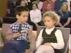 Émission : ça se discute .. deux petits amoureux de 5 ans :-) .. cé trees mignon