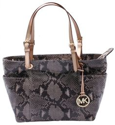 Michael Kors Jet Set Tote Satchel Womens Handbag