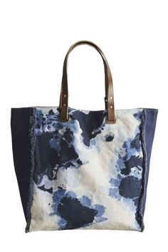 Genèse Printed Tote, cotton canvas