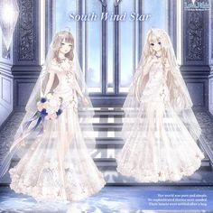Bobo Shoes, 21st Dresses, Wedding Dresses, Ribbon Sandals, Diamond Hair, Nikki Love, Disney Princess Pictures, Chica Anime Manga, Anime Outfits