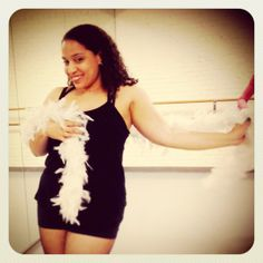 How cute is Jen in this pic! Philly Burlesque classes for Bombshells (Philadelphia, PA) - Wed at 7