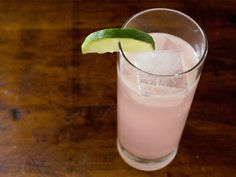 Rhubarb and Ginger Cocktail Recipe