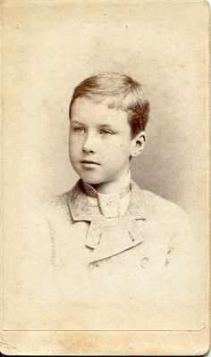 Portrait of an unknown boy by Frederick Gutekunst (after 1866) by pellethepoet, via Flickr