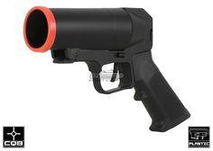 S-Thunder Universal Airsoft 40mm Grenade Launcher Pistol ( Short Barrel )