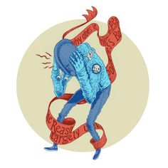 More recent drawings by Gerhard Human , via Behance
