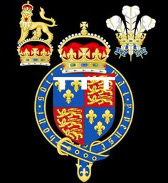 '''Coat of Arms of the Tudor Princes of Wales''' used by Arthur Tudor, Henry VIII and Edward VI.