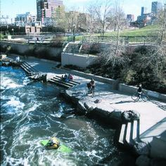 Denver, Colorado: best riverfront  Bike, jog, and watch birds along the great South Platte