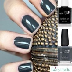 Shades of grey for your manicure! Fairynails