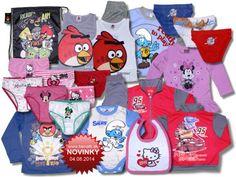 Nový tovar v ponuke od 04.08.2014. Detské oblečenie Disney, Hello Kitty, Monster High, Losan.. - Internetový obchod - benatti.sk
