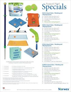 Rebecca Lange - Norwex Independent Sales Consultant: Norwex August 2015 Specials - Customer Specials and Host Specials http://www.fastgreenclean.com/2015/08/norwex-august-specials-customer.html