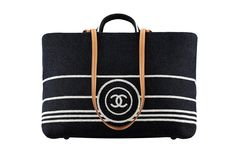 Chanel's denim tote bag: I would use it while eating at a resto by the beach but, nahhh, not TO the beach