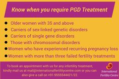 To book an appointment with us for any infertility treatment, kindly mail us at mail@internationalfertilitycentre.com or you can also give a call on +91-9555544421/22. #PGD #InternationalFertilityCentre #Delhi #India