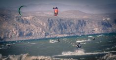 Kitesurf, windsurf y paddle surf  Deportes de agua en Roquetas