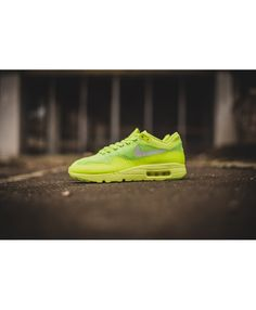 buy popular c788d 2e57e Buy the latest fashion Nike Air Max 1 Ultra Flyknit Volt Electric Green White  Men s Shoes to enjoy the best Discounted price.