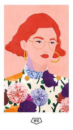 Ilustración de Petra Erikson #illustration