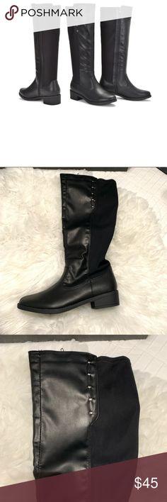 925eeeaa862 Sociology Fling Stretch Knee High Boots - Black- Sociology Women s Fling  Stretch Knee High Boots
