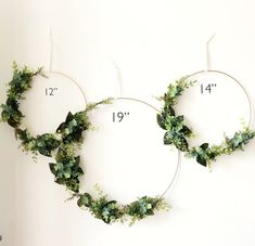 Excited to share this item from my shop: Set of 3 - Nursery Floral Hoop Wreaths, , and Floral Wreaths For Nursery, Nursery Wall Decor, Greenery Hoop Wreaths Blush Flowers, Faux Flowers, Bridal Flowers, Greenery Wreath, Floral Wreaths, Greenery Decor, Wedding Greenery, Artificial Bridal Bouquets, Artificial Flowers
