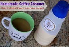 How To Make Coffee Creamer - Over 24 Flavor Varieties!