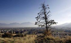 Smog lines the valley in Salt Lake County on Sunday, Nov. 25, 2012. (Scott G Winterton, Deseret News)
