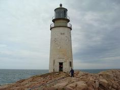 Moose Peak Light Station is located at the eastern point of Mistake Island in Washington County, Maine.