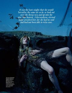 Underwater Slumber Editorials : how to spend it may 2014