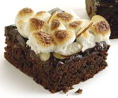 Banana Split Brownies by Fine Cooking