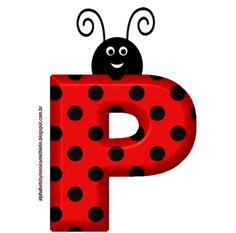 Printable Alphabet Letters, Alphabet Letters Design, Alphabet Templates, Fancy Letters, Alphabet And Numbers, Quilling Letters, Emoji Images, Clip Art Pictures, Ladybug Party