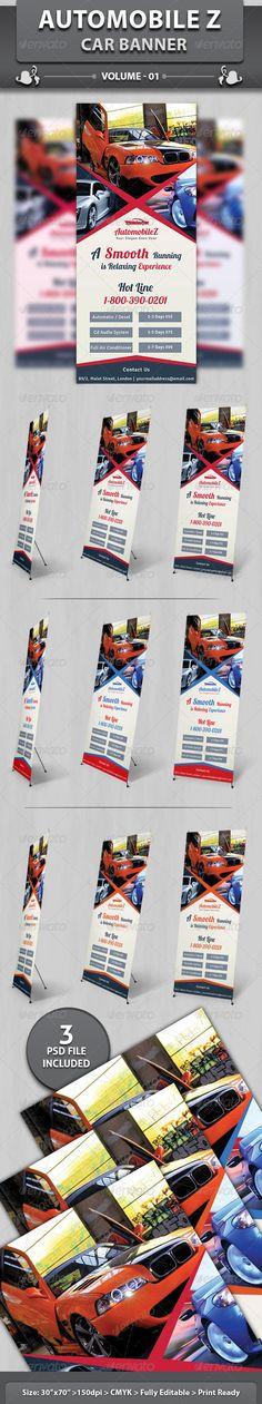 Automobile Business Banner | Volume 2