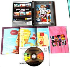 Grand Theft Auto: Vice City für Playstation 2,in OVP!