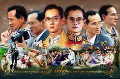 King Phumipol, King Rama 9, King Of Kings, King Queen, King Thailand, King Painting, Queen Sirikit, Bhumibol Adulyadej, Great King