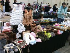 Ira Rott Fashion, Craft Show, Fairs and Exhibitions ( Handmade Crochet Animal Hats )