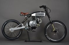 Motopeds' frame kit can transform your old Honda pit bike into this super fun moped of sorts.