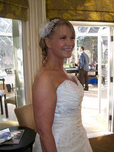 Lovely Lisa - Woodside, February 2014  www.bridalgallerycoventry.co.uk