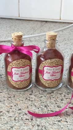 Spice jars: Jerk - Tandoori seasoning