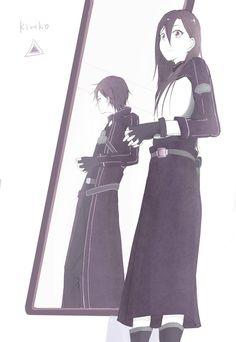 Sword Art Online Kirito, Anime Base, Asuna, Fan Art, Manga, Anime Stuff, Otaku, Fandom, Pictures