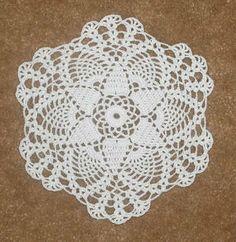 easy crochet dollies patterns | Crochet Petite Seasonal Doily Patterns – Petite Autumn Doily Pattern More
