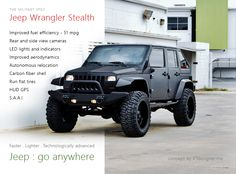 Jeep Wrangler Stealth concept