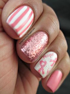Fairly Charming: Joby Nail Art's Fight Against Breast Cancer