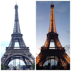 Day & Night in Paris