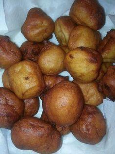 Bonelos Aga, fried to a golden brown.....chamorro style banana donuts