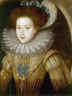 1580s Unknown English Lady by circle of Larkin