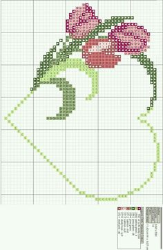 Free Cross Stitch Charts, Cross Stitch Pictures, Cross Stitch Heart, Cross Stitch Cards, Beaded Cross Stitch, Cross Stitch Borders, Cross Stitch Flowers, Cross Stitching, Wedding Cross Stitch Patterns